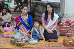 Lao women Stock Images