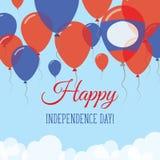 Lao Zaludnia Demokratycznej republiki dzień niepodległości Obrazy Royalty Free