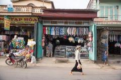 LAOCAI, ВЬЕТНАМ, 10-ОЕ ИЮНЯ: ежедневная жизнь неопознанных людей в Tu Стоковые Изображения RF