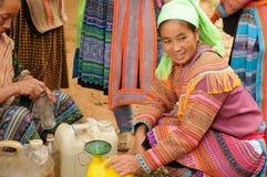 Laocai-Markt Lizenzfreie Stockbilder