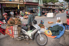 LAOCAI, VIETNAM, JUN 10: daily life of unidentified people in Tu Stock Photo