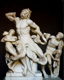 The Laocoon. The roman statue of Laocoon from the Vatican museums Royalty Free Stock Photography