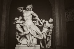 Laocoon and his sons Stock Photography