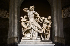 Laocoon and His Sons Sculpture Royalty Free Stock Image