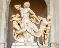 Laocoon and His Sons statue in Vatican Museum Royalty Free Stock Images