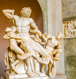 Laocoon and His Sons statue in Vatican Museum Royalty Free Stock Photo