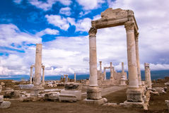 Laodicea土耳其古老废墟  图库摄影