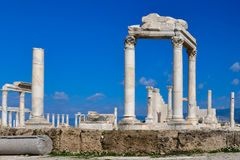 Laodicea. An antique city, Pamukkale Stock Photo