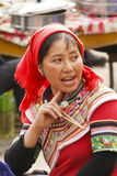 Woman of  ethnic Yi Stock Photography