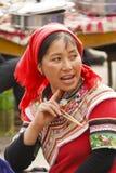 Женщина этнического Yi Стоковая Фотография