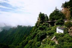 Laojun góra w Luoyang Obrazy Stock