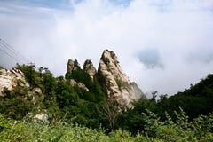 Laojun góra w Luoyang Obraz Stock