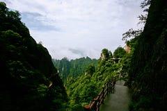 Laojun góra w Luoyang Fotografia Stock
