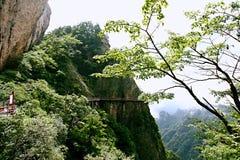 Laojun góra w Luoyang Obrazy Royalty Free