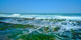 Laomei Green Reef - Taiwan North Coast seasonal features, shot in Shimen District, New Taipei, Taiwan. Shot in Shimen District, New Taipei, Taiwan royalty free stock images