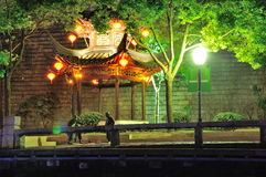 Laomendong night scene Royalty Free Stock Images