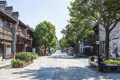 laomendong street scenery Royalty Free Stock Image