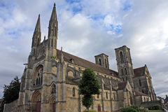 Laon Abbey, France Stock Photography