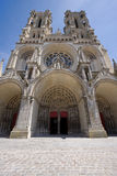 Laon cathedral Royalty Free Stock Images
