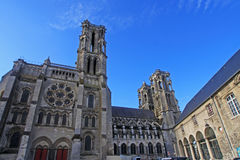 Laon Cathedral Royalty Free Stock Photos