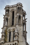 Laon Cathedral, France Royalty Free Stock Photos