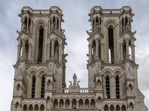 Laon Cathedral, France Royalty Free Stock Image