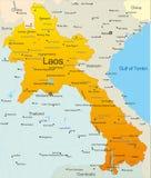 Laos royalty free illustration