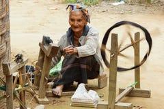 By Laos, Asien Arkivfoton