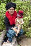 laos azjatykcia kobieta Yao zdjęcia stock