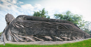 Laos Buddha park.Tourist attraction in Vientiane Royalty Free Stock Photography