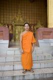 Laos buddhistic luang mnisi prabang Zdjęcie Stock
