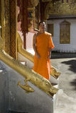 Laos buddhistic luang mnisi prabang Obraz Stock