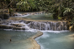 Laos, cascade Stock Photography