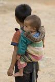 Laos chłopca Fotografia Royalty Free