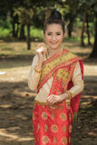 Laos costume Royalty Free Stock Photography