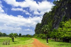 Laos Country Roads. Stock Images