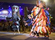 Laos dance show Mask international Festival Stock Photos