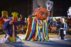Laos dance show Mask international Festival Stock Images