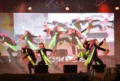 Laos dance show Mask international Festival royalty free stock photo