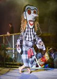 Laos dance show Mask international Festival royalty free stock photos