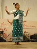Laos Dancer Royalty Free Stock Photography