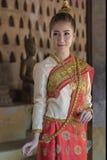 Laos dräkt Royaltyfri Bild