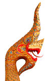 Laos dragon isolated over white Royalty Free Stock Photo