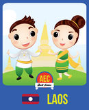 Laos EGZ-Puppe Lizenzfreie Stockfotos
