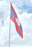 Laos Flag Stock Photography