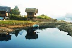Laos huts Royalty Free Stock Photo