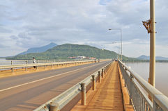 Laos Japanese Bridge Royalty Free Stock Images