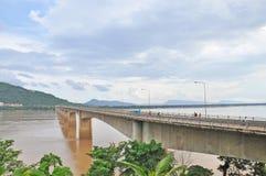 Laos Japanese Bridge Stock Image