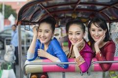 Laos kobieta Obraz Royalty Free