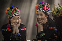 Laos kvinna Royaltyfria Bilder